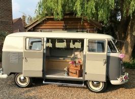 1962 Campervan for weddings in Epsom